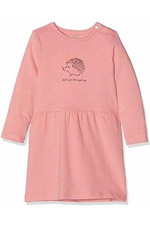 Noppies Baby Girls' G Dress ls Ceres (Peach Blossom P197)