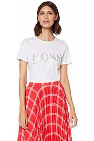 HUGO BOSS Women's Tefoil T-Shirt, ( 100)