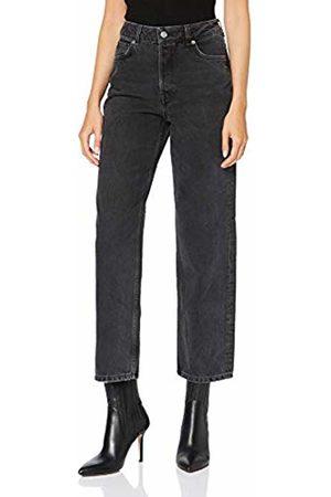 Selected Femme NOS Women Baggy & Boyfriend - Women's Slfkate Hw Straight Ston Jea W Noos Jeans, Denim