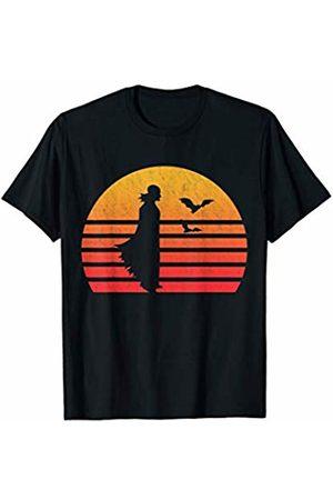 Classic Vintage Retro T-Shirts Vintage Retro Sunset Vampire T-Shirt