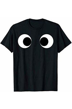 Costune Halloween Costumes Shirt Men Women Kids Really Creepy Scary Side Eyes Eyeballs Race Running Monster T-Shirt