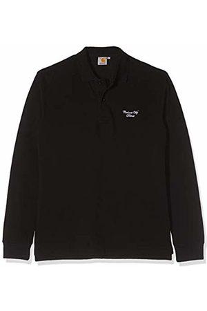 Carhartt Men's L/S Hand Script Pique Polo T-Shirt, /