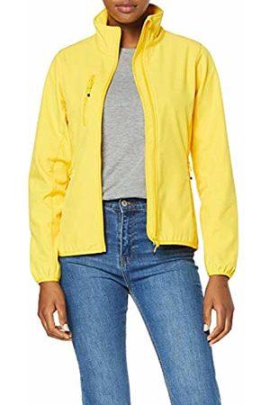 CLIQUE Women's Ladies Basic Softshell Jacket (Lemon)