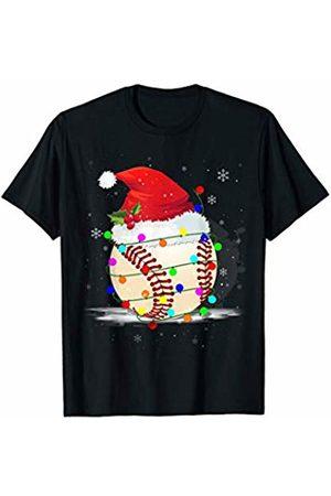 Merry Christmas Sports Baseball Lovers Cool Christmas Baseball Santa Snowman Hat Gift Who Love Sport
