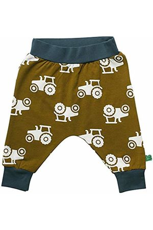 Green Cotton Baby Boys' Tractor Pants Trouser