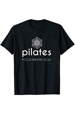 Claudia Flores Pilates T Shirt Focus Breathe Flow Fitness | T-Shirt