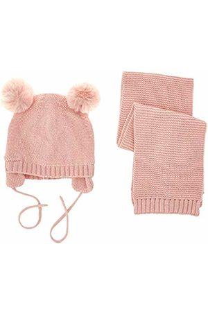 chicco Baby Girls' Completo Cappello Con Sciarpa Cap