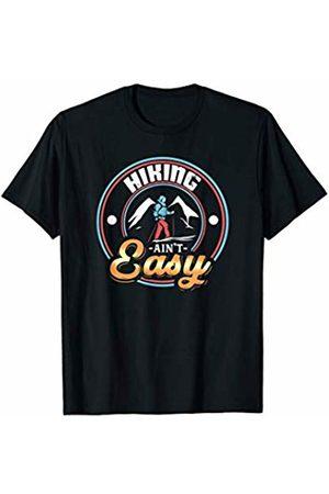 Tru Bru Sports T-shirts Men T-shirts - Hiking ain't Easy Athlete's Sport T-Shirt