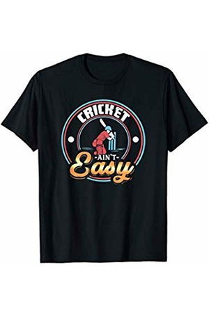 Tru Bru Sports T-shirts Cricket ain't Easy Athlete's Sport T-Shirt