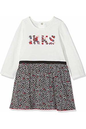 IKKS Baby Girls' Robe Bi Matiere All Over Dress