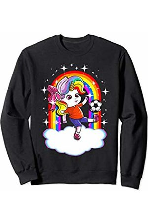 Magical Unicorn Squad Gift Shop Soccer Unicorn Sports Unicorns Cute Girls Kids Youth Women Sweatshirt