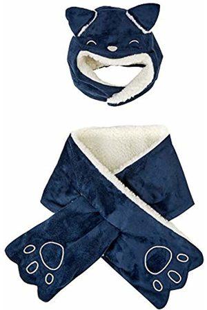 chicco Baby Boys' Completo Cappello Con Sciarpa Cap
