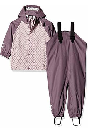 Name it Baby Girls' Nmfdry Rain Set 1fo Clothing, Burnished Lilac