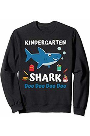 Back To School First day of School Shark Shirts Kindergarten Shark Doo Doo Shirt Boys Girls Back To School Sweatshirt