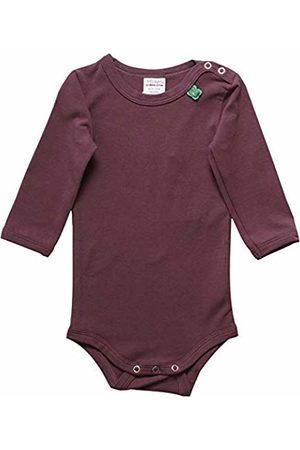 Green Cotton Baby Girls' Alfa Body Shaping Bodysuit, (Plum 019231101)