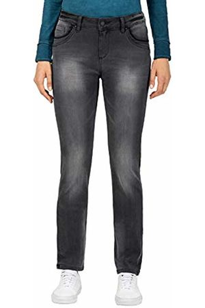Timezone Women's Slim Tahilatz Womanshape Straight Jeans, (Faded Wash 9062)