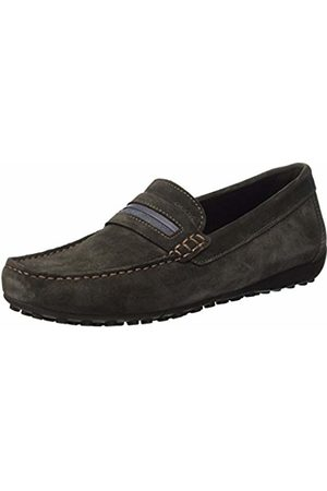 Geox Men's U Snake Moc 2fit A Slip-On Loafer, Braun (MUDC6372)