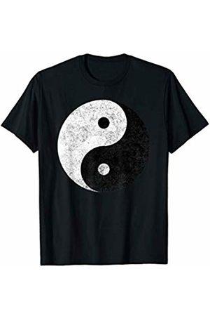 HZ Quotes Tees Yin Yang Symbol Tao Taijitu Yoga Peace Love T-Shirt