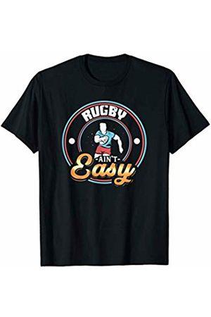 Tru Bru Sports T-shirts Men T-shirts - Rugby ain't Easy Athlete's Sport T-Shirt