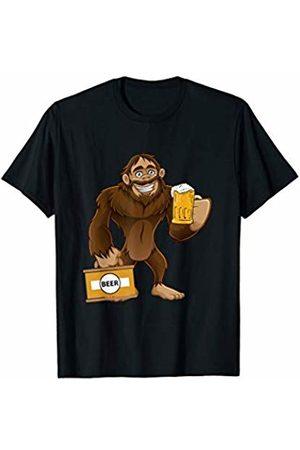 Oktoberfest Apparel by BUBL TEES Sasquatch Bigfoot Beer Feast Oktoberfest Party T-Shirt