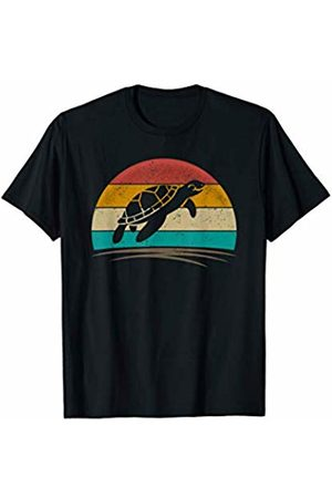Wowsome! Sea Turtle Retro Vintage 70s Distressed Animal Men Women T-Shirt
