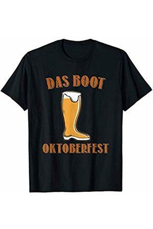 Oktoberfest Apparel by BUBL TEES Das Boot Oktoberfest Beer Festival Drinking T-Shirt
