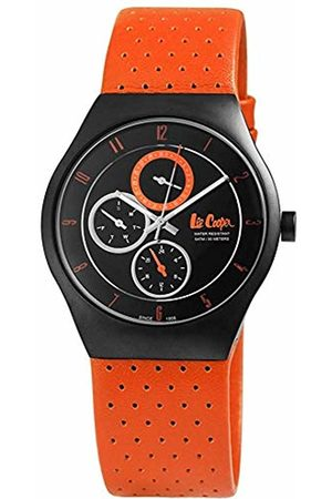Lee Cooper Womens Analogue Quartz Watch with Leather Strap LC-15L-A