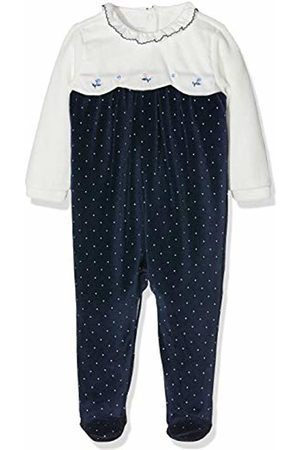 chicco Baby Girls' Tutina Con Apertura Entrogamba Footies