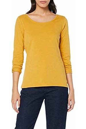 Esprit Women's 998ee1k812 Long Sleeve Top, Honey 710