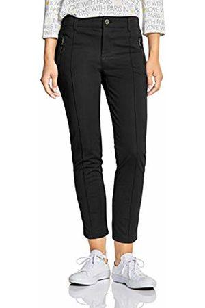 Street one Women's 372498 York Slim Fit Trouser, ( 10001)