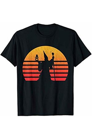 Classic Vintage Retro T-Shirts Vintage Retro Sunset Wizard T-Shirt