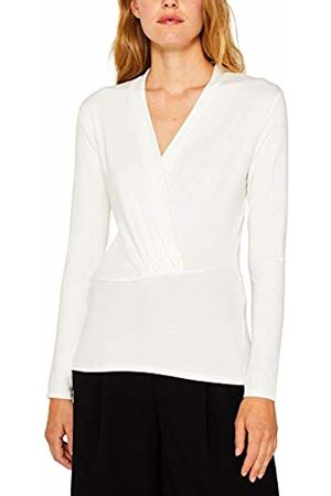 Esprit Collection Women's 999eo1k809 Long Sleeve Top, ( 110)