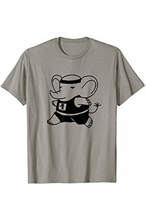 Fitness Workout Gym Gifts 2.1 Exercising Elephant Workout Gift T-Shirt