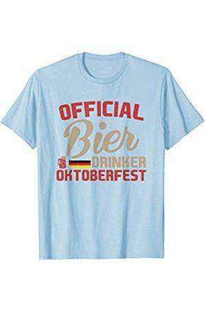Oktoberfest Apparel by BUBL TEES Official Bier Drinker Oktoberfest Beer T-Shirt
