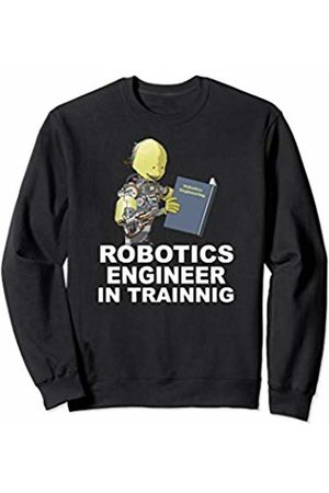 Cyborg & Kids Robot T-Shirt Designs Funny Robot for Kids Robotics Engineer in Training Sweatshirt