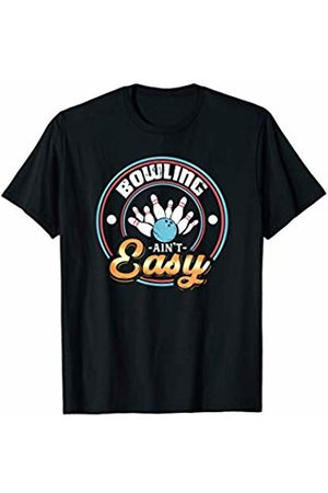 Tru Bru Sports T-shirts Bowling ain't Easy Athlete's Sport T-Shirt