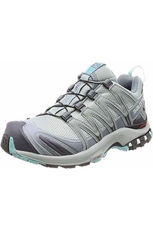 Salomon Women's Trail Running Shoes, XA Pro 3D GTX W, Lead/Stormy Weather/Meadowbrook