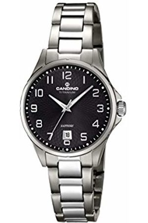 Candino Womens Analogue Classic Quartz Watch with Titanium Strap C4608/4