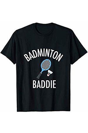 Badminton Baddie High School Sports Tee Shirt Badminton Baddie High School Sports Funny Gift Shirt T-Shirt
