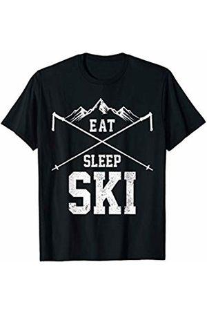 We Love To Ski - Apparel & Gifts Eat Sleep Ski Repeat - Skiing Winter Sports Skier Gift T-Shirt