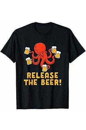 Oktoberfest Apparel by BUBL TEES Release The Beer Octopus Mug Oktoberfest Wiesn T-Shirt
