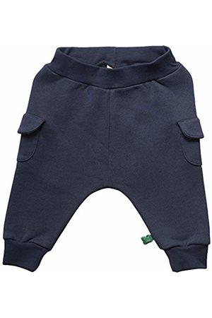 Green Cotton Baby Boys' Sweat Pocket Pants Trouser