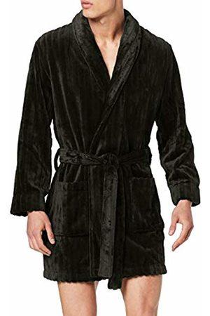 Hom Men's Mellow Fleece Robe Bathrub
