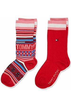 Tommy Hilfiger Boys Socks - Boys' TH KIDS SOCK 2P MULTI COLOR ( 424)