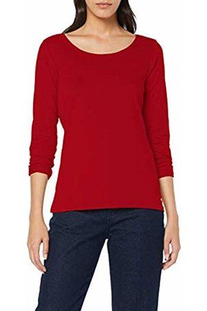 Esprit Women's 998ee1k812 Long Sleeve Top, (Dark 610)