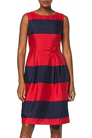 Apart Women's Striped Dress Party, -Midnightblue