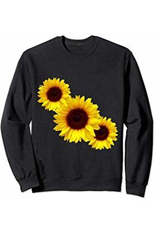 Sunflower Daisy A World Full Of Roses Girl Power Hoodie Sweatshirt Pullover UK