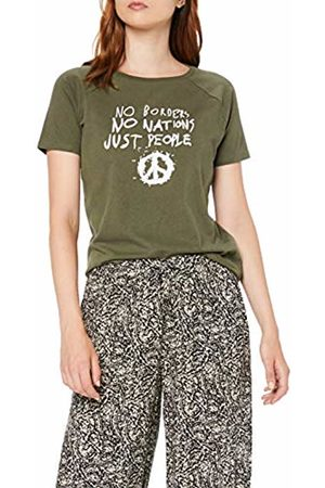 Koton Women's Shirt Mit Statement-Druck T
