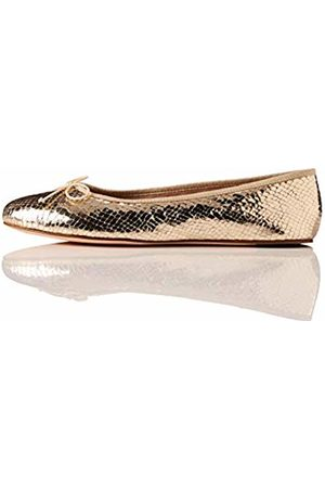 FIND Simple Closed Toe Ballet Flats, )