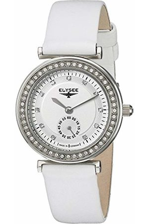 ELYSEE Unisex Adult Analogue Quartz Watch with Leather Strap 44005.0